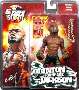 Round 5 World of MMA Champions UFC Series 1 Action Figure Quinton