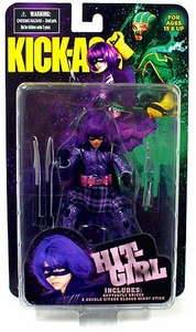Kick-Ass Mezco Toyz 7 Inch Action Figure Hit Girl [Includes Swords & Butterfly Knife]