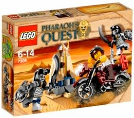 LEGO Pharaoh's Quest Set #7306 Golden Staff Guardians