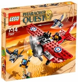 LEGO Pharaoh's Quest Set #7307 Flying Mummy Attack