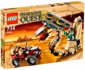 LEGO Pharaoh's Quest Set #7325 Cursed Cobra Statue