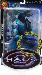 Halo 2 Action Figure Limited Edition Series 2 Teal Elite