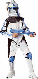 Star Wars The Clone Wars Rubies Costume #883201 Deluxe Clone Trooper Leader Rex [Child Size]