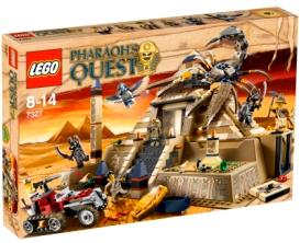 LEGO Pharaoh's Quest Set #7327 Scorpion Pyramid