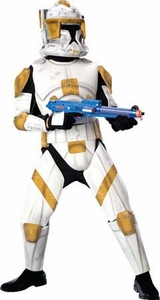 Star Wars The Clone Wars Rubies Costume #883207 Deluxe Clone Trooper Commander Cody  [Child]