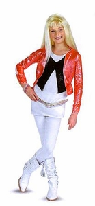 Disguise Hannah Montana Costume #7195 Hannah with Pink Jacket & Wig [Child Size Large 10-12]