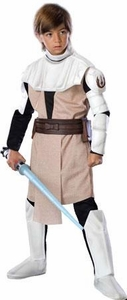 Star Wars The Clone Wars Rubies Costume #883197 Obi-Wan Kenobi Deluxe [Child Small]