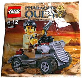 LEGO Pharaoh's Quest Set #30091 Desert Rover [Bagged]