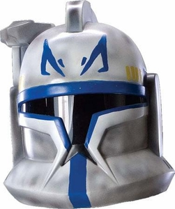 Star Wars The Clone Wars Rubies Costume #4530 Clone Trooper Leader Rex Two-Piece Helmet