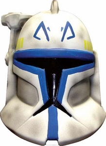 Star Wars The Clone Wars Rubies Costume #4532 Clone Trooper Leader Rex1/2 Helmet