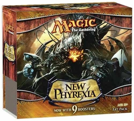 Magic the Gathering Card Game New Phyrexia Fat Pack