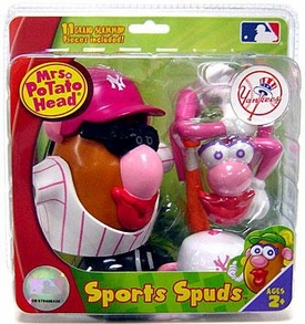New York Yankees Mrs. Potato Head MLB Sports Spuds