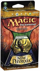 Magic the Gathering New Phyrexia Intro Pack Theme Deck Ravaging Swarm