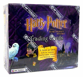 ArtBox Harry Potter and the Sorcerer's Stone Movie Hobby Version Trading Card Box (24 Packs) Limited to 8000!