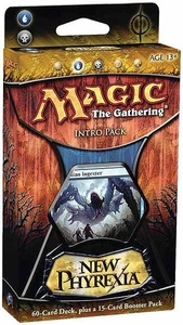 Magic the Gathering New Phyrexia Intro Pack Theme Deck Devouring Skies
