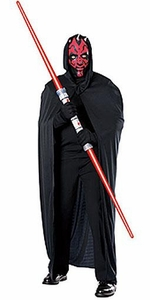 Star Wars Rubies Costume #15728 Darth Maul Mask & Cape