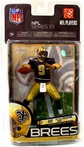 McFarlane Toys NFL Sports Picks Series 23 Action Figure Drew Brees (New Orleans Saints) Gold Pants
