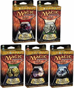 Magic the Gathering New Phyrexia Set of 5 Theme Deck Intro Packs