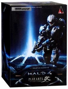 Halo 4 Square Enix Play Arts Kai Series 1 Action Figure Spartan Warrior [Blue]