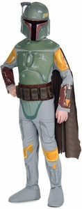 Star Wars Rubies Costume #883076 Deluxe Boba Fett (Child Size Medium)