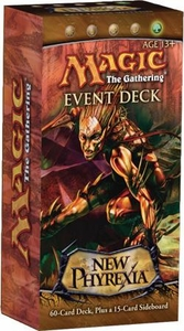 Magic the Gathering New Phyrexia Event Deck Rot from Within Includes Inkmoth Nexus & Green Sun Zenith!