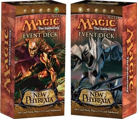 Magic the Gathering New Phyrexia Set of Both Event Decks [Rot from Within & War of Attrition]