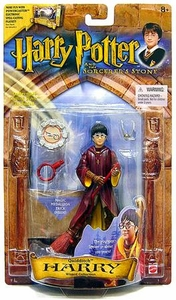 Harry Potter and the Sorcerer's Stone Action Figure Quidditch Harry Potter