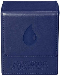Ultra Pro Magic The Gathering Blue Mana Symbol Premium Flip Deck Box