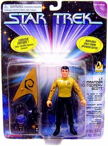 Star Trek Playmates Action Figure Montgomery Scott