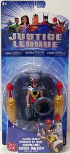 Justice League Action Figure Silver Storm Hawkgirl