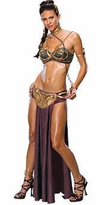 Rubie's Costume Star Wars #888611 Princess Leia Slave Outfit WOMEN'S SMALL ONLY!