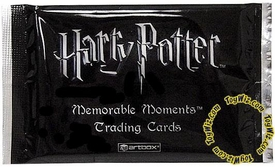 Harry Potter Artbox Memorable Moments Movie Cards Pack