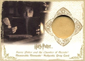 Harry Potter Artbox Memorable Moments Authentic Prop Card P4 Tom Riddle's Diary 176/180