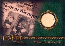 Harry Potter and the Sorcerer's Stone Artbox (2005) Authentic Prop Cards The Daily Prophet #364/733