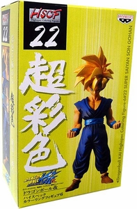Dragon Ball Kai BanPresto HSCF Highspec Coloring Figure #22 Super Saiyan Gohan