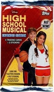 Topps High School Musical 2 Expanded Edition Trading Cards & Stickers Pack