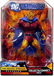 DC Universe Classics Series 1 Action Figure The Demon Etrigan [Build Metamorpho Piece!]