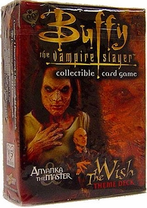 Buffy the Vampire Slayer Card Game Class of '99 The Wish Theme Deck Anyanka the Master