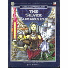 The Silver Summoner Softcover Roleplaying Book [Used Condition: Near Mint]