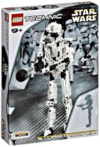 LEGO Star Wars Technic Set #8008 Stormtrooper