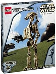LEGO Star Wars Episode I Technic Set #8001 Battle Droid