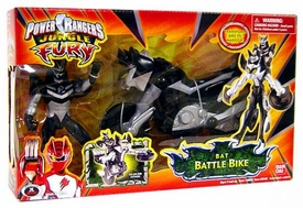 Power Rangers Jungle Fury Cycles Bat Battle Bike