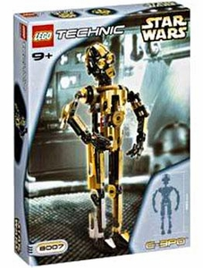 LEGO Star Wars Technic Set #8007 C-3PO