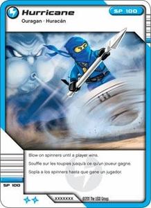 LEGO Ninjago Single Card 33/81 Hurricane