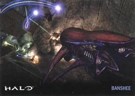 Halo Topps Base Set Single Card #24 Banshee