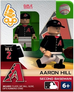 OYO Baseball MLB Generation 2 Building Brick Minifigure Aaron Hill [Arizona Diamondbacks]