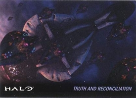 Halo Topps Base Set Single Card #30 Truth and Reconciliation