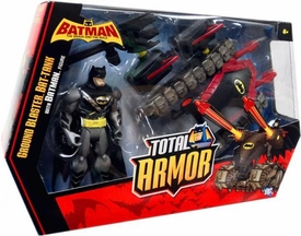 DC Batman Brave and the Bold Total Armor Vehicle & Action Figure Ground Blaster Bat-Tank