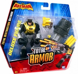 DC Batman Brave and the Bold Total Armor Deluxe Total Destruction Batman