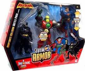DC Batman The Brave And The Bold Total Armor Kryptonite Collision Battle Pack